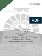 PDRC Cusco Al 2021 Con Prospectiva Al 2030