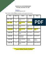 WOSSAA 'A' junior/senior girls' basketball schedule