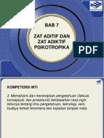 IPA Terpadu VIII - Bab 7 Zat Aditif Dan Zat Adiktif Psikotropika