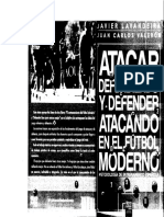 1Atacar Defendiendo y Defender Atacando en El Futbol Moderno