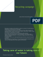 Evidence Recycling Campaign