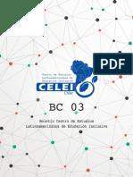 Boletín CELEI. 3