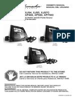 XP400 Manual