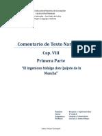 Comentario Don Quijote - Benjamin Sepulveda