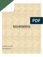 Clase Catedra Curso Petrografia Rocas Metamorficas 19-11-2015