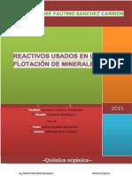 Reactivos de Flotación IV Metalurgica