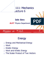 Mekanik - Energy, Work