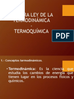 1ra Ley de La Termo