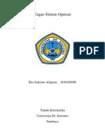 Tugas Sistem Operasi 2 (Penjadwalan Proses)
