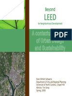 Beyond LEED for Neighborhood Development a Contextual Analysis of Urban Design and Sustainability