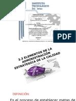 Exposicion-3.3 Elementos de La Administracion Estrategica Estrategica
