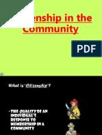 Citizenship in the Community Merit Badge Lesson
