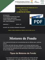 4.2 Motores de Fondo