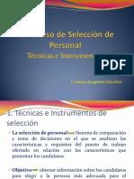el proceso de seleccion de personal