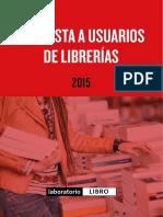 150605 Encuesta Librerias v1