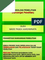 RANCANGAN PENELITIAN Epidemiologi.ppt