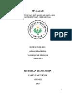 makalah kepemimpinan persentasi ASTONI SINAMBELA