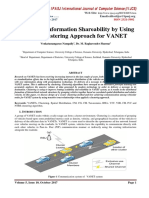 Increasing Information Shareability by Using NTBS Clustering Approach for VANET