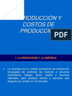 7 - La Produccion y Costos de Produccion