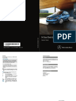 2017 Mercedes B-Class Electric Drive User Manual