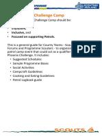 02S County Patrol Challenge Camp