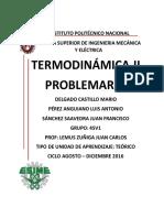 Problemario Termodinámica II