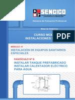 09 Instalar Tanque Prefabricado _ Instalar Calentador Electrico Para Agua