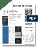 Aplicación Para Diseño de Canales Hidráulicos (Edgar Orlando Ladino M.)