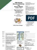 2010 Meeting Brochure2
