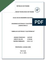 Esquemas Eléctricos y Electrónicos - Laboratorio 1 Simbología Electrica