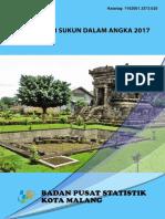 Kecamatan Sukun Dalam Angka 2017