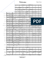 Welcome - Score Sample