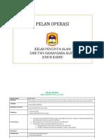 Pelan Operasi Kelab Alam Sekitar 2018