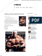 Ronnie Coleman Workouts and Diet _ Muscle World