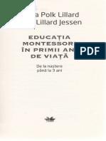Educatia Montessori in Primii Ani de Viata - Paula Polk Lillard
