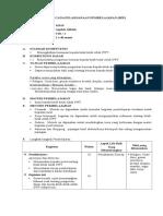RPP Kurikulum 2013 Aqidah Akhlak Mts Kelas VIII Semester 1-1