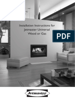 Universal Wood and Gas Installation Manual