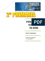 Pers. Social III Bim