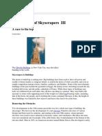 History of Skyscrapers III