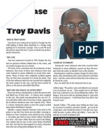 Troy Davis Factsheet