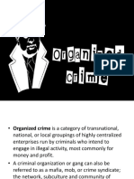 Group 3 Organized Crime