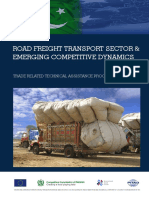 Road Freight Transport Sector and Emerging Competitive Dynamics Final