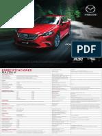 Ficha Tecnica Mazda 6