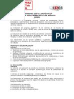 Reglamento de Evaluación ERES Al 04022010