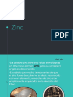 Presentacion Zinc