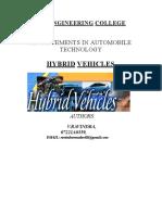 HYBRID VEHICLES.doc