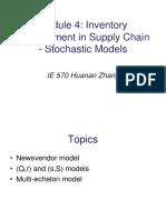 Module 4 - Stochastic