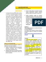 Sección Método (Metodología de la Investigación)