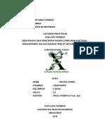Laporan Asetosal-pct Mb