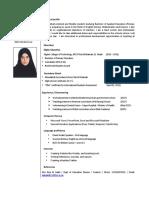 nahla al shehhi curriculum vitae final year student senior 2018 may